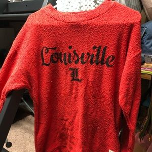 Louisville Cardinals Sweater and Harry Set